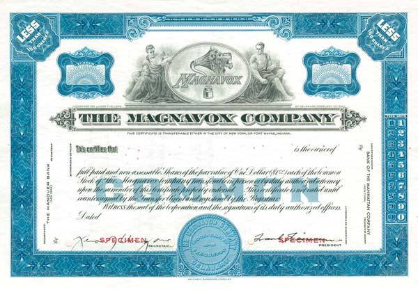 Magnavox Company - SOLD