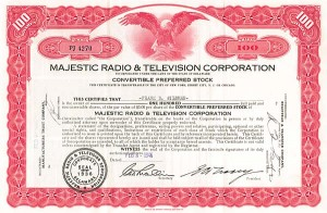 Majestic Radio & Television Corporation