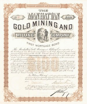 Manhattan Gold Mining and Milling Company - SOLD