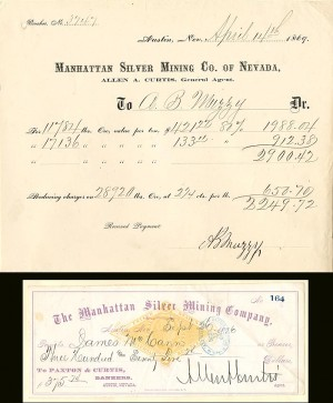 Manhattan Silver Mining Company - SOLD