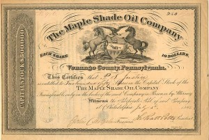 Maple Shade Oil Company - SOLD