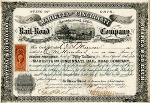 Marietta and Cincinnati Rail-Road Company