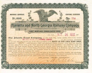 Marietta & North Georgia Railway