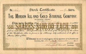 Marion Ice and Gold Storage Company