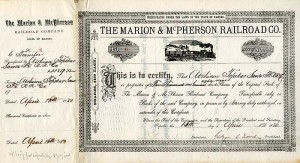 Marion & McPherson Railroad Co.