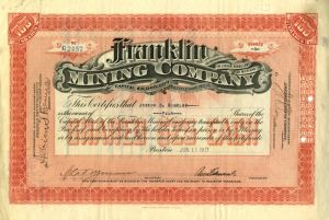 Collectible Mining Stocks