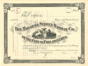 Marshall Street Railway Co. of the City of Philadelphia