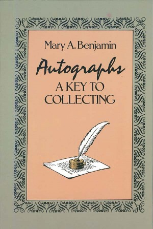 Autographs A Key To Collecting - SOLD