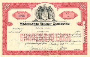 Maryland Trust Company