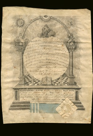 Masonic Document