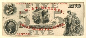 J.W. & J. McCarty Ad Note