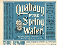 Quabaug Pure Spring Water