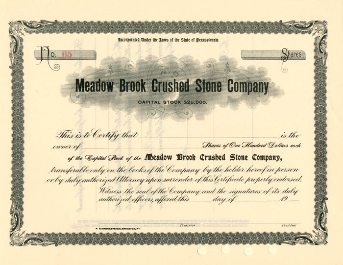 Meadow Brook Crushed Stone Company