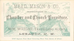 Mead, Mason & Co. Advertising Card