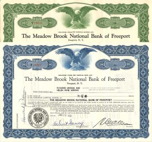 Meadow Brook National Bank of Freeport - SOLD