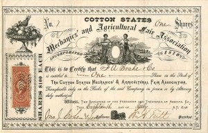 Mechanics' and Agricultural Fair Association