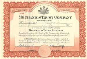 Mechanics Trust Company