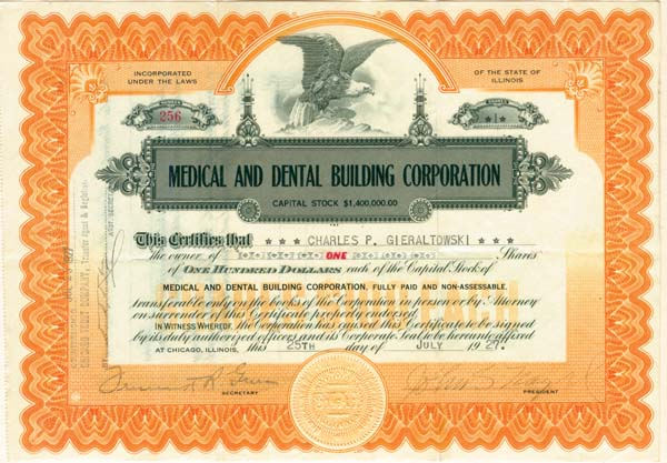 Medical & Dental Building Corporation
