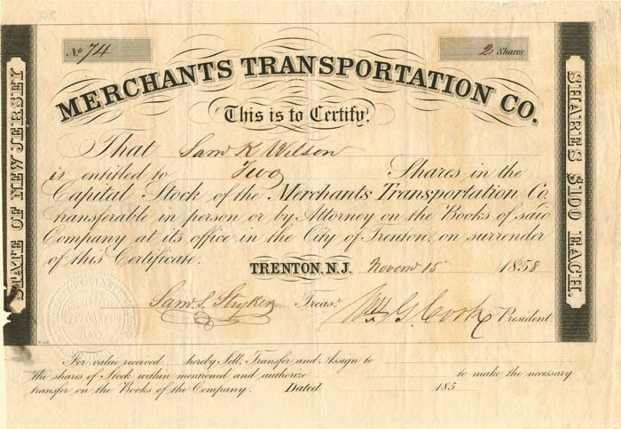 Merchants Transportation Co.