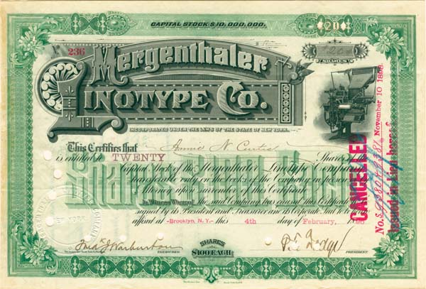 Mergenthaler Linotype Company