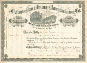 Metropolitan Mining and Manufacturing Co.