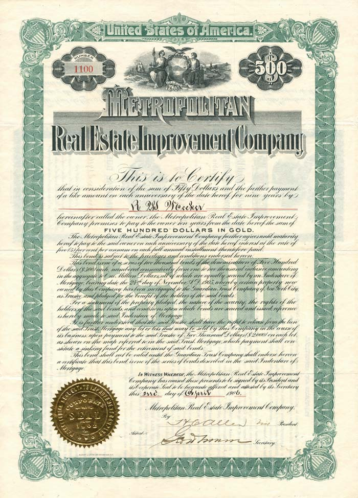 Metropolitan Real Estate Improvement Company