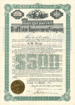 Metropolitan Real Estate Improvement Company - SOLD