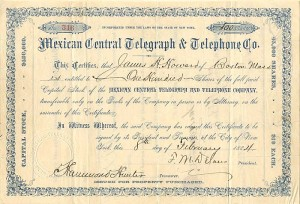 Mexican Central Telegraph & Telephone Co.