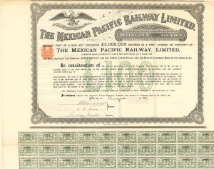 Mexican Pacific Railway Limited - Bond