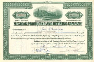 Mexican Producing and Refining Company
