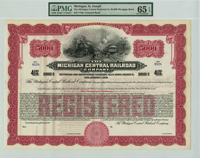Michigan Central Railroad Company $5,000 Bond