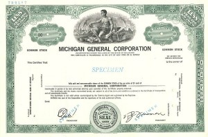 Michigan General Corporation - SOLD