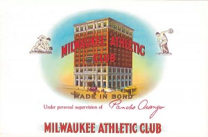 Milwaukee Athletic Club - Cigar Box Labels - SOLD