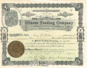 Miners Trading Company - SOLD