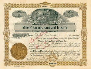 Miners' Savings Bank & Trust Company