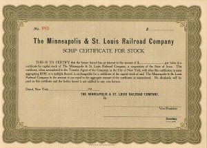 Minneapolis & St. Louis Railroad Company
