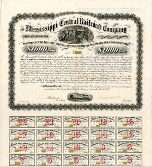 Mississippi Central Railroad Company - SOLD
