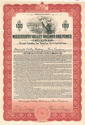 Mississippi Valley Railway & Power Company