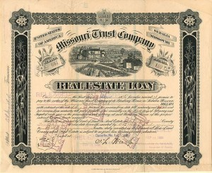 Missouri Trust Company Real Estate Loan - SOLD