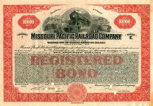 Missouri Pacific Railroad - SOLD