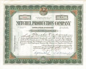 Mitchel Production Company - SOLD