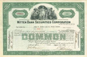 Mitten Bank Securities Corporation