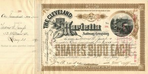 Cleveland and Marietta Railway Company signed by Morris K. Jesup