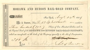 Mohawk and Hudson Rail-Road Company