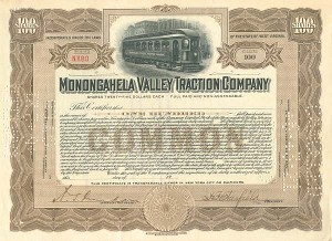 Monongahela Valley Traction Company - SOLD