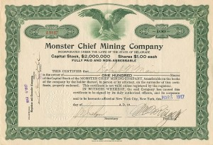 Monster Chief Mining Company