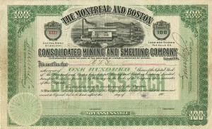 Montreal and Boston Consolidated Mining and Smelting Company