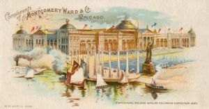 Agricultural Building Worlds Columbian Exposition
