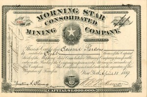 Morning Star Consolidated Mining Company