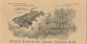 Granite State Fire Insurance Company, of Portsmouth, N.H. - SOLD